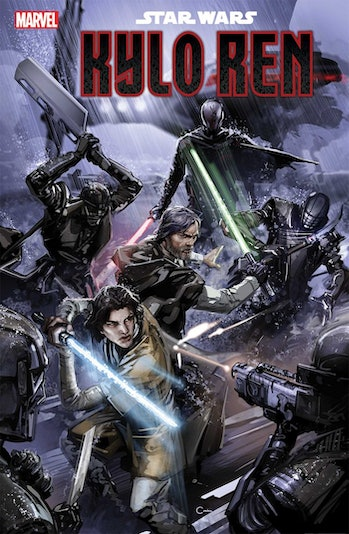 star wars the rise of kylo ren comic