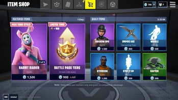 Here's what the Item Shop looks like after you buy a Premium Battle Pass in 'Fortnite: Battle Royale'.