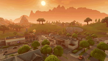 Pleasant Park is a decent starting location in 'Fortnite: Battle Royale' if only because it tends to be just crowded enough.