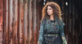 Nadia Hilker as Luna in 'The 100'