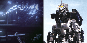Mechagodzilla in 'Godzilla: Monster Planet'