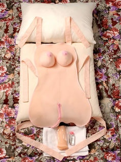 Apron sex doll pillow cushion