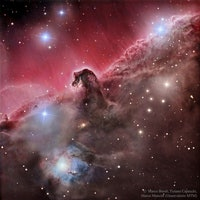 Amateur Astronomy Trio Capture Image of Horsehead Nebula Rearing its Ugly Head