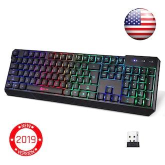 KLIM Chroma Wireless Gaming Keyboard