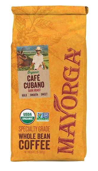 Mayorga Organics Cafe Cubano Dark Roast, 2 Pound