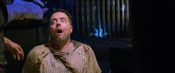 Jon Daly as Owl in 'Future Man'.