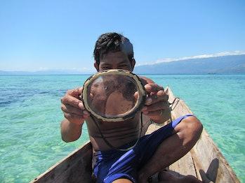 bajau sea nomad diving mask