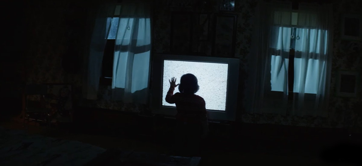 'Poltergeist' or 'Little Evil'? It's hard to tell.