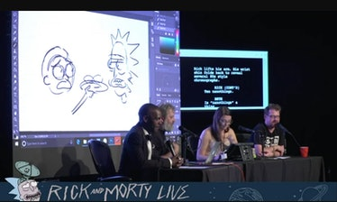 'Rick and Morty' livestream