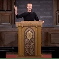 "Mark Zuckerberg's ""unfiltered take"" on freedom of speech"