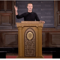 "Mark Zuckerberg's ""unfiltered take"" on freedom of speech"