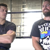'Arrow' Star Stephen Amell's Long Complicated History With Pro Wrestling