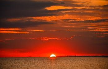 light, sunrise, memory