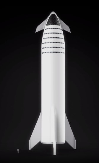 spacex bfr second stage