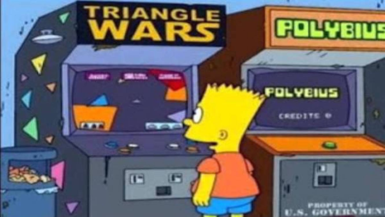"""Polybius"" the video game creepypasta."