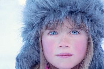 blue eyes winter