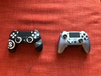SCUF Infinity4PS Pro and the SCUF Vantage