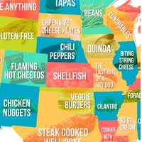 This Map From Dating App 'Hater' Shows the Food Each State Detests