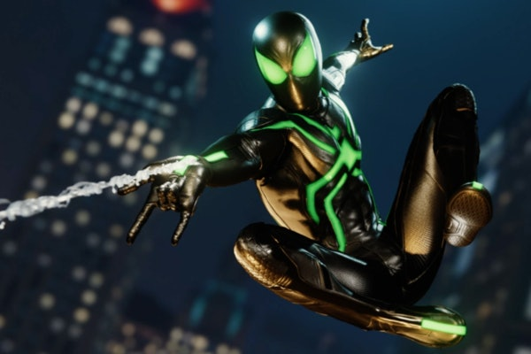 "'Spider-Man' PS4 Stealth ""Big Time"" Suit"