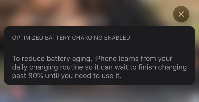 ios 13 battery health notifications