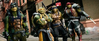 Ninja Turtles Ready Player One