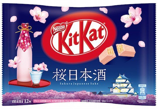 Kit Kat Mini Sakura Japanese Sake