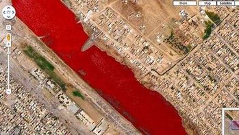 blood river google maps