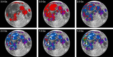 Moon Volcanoes Lunar Volcanic Activity