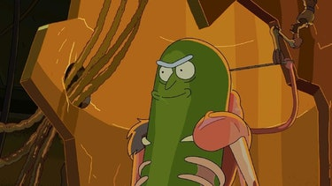 Pickle Rick took things to a whole new level of ridiculousness.