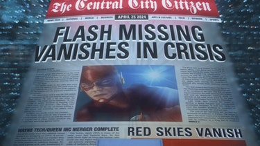The Flash Crisis on Infinite Eaerths