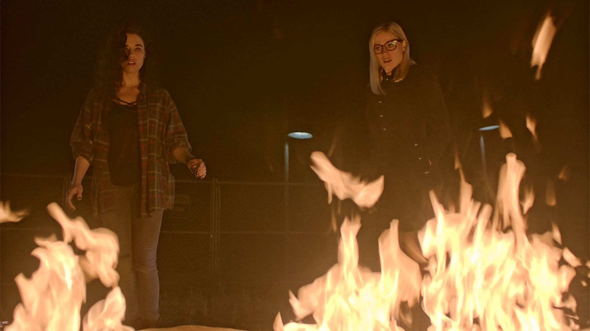Penny's body burns.