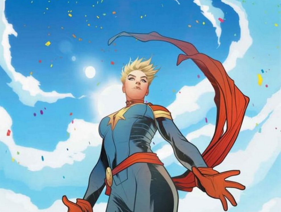 Captain Marvel solo comic 2017 by Marvel Comics