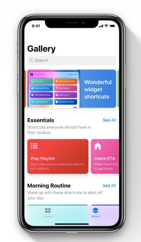 ios 12 shortcuts