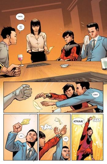 Marvel Jimmy Woo Shang Chi