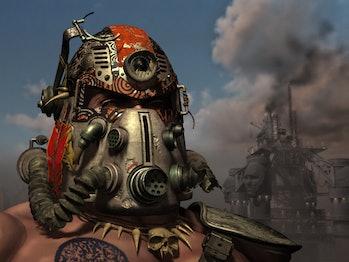 Tribal Power Armor Fallout 2