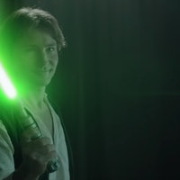 'Star Wars' Fan Film Gives Han Solo His First Lightsaber