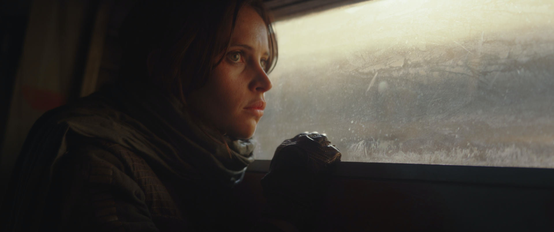 Jyn Erso in 'Rogue One: A Star Wars Story'