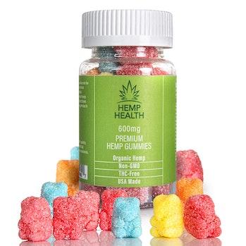 Hemp Gummies - 20mg per Gummy, 600mg per Bottle