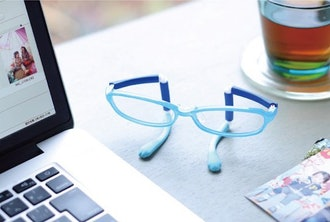 The Peteye PC glasses are cute, even when you aren't wearing them.
