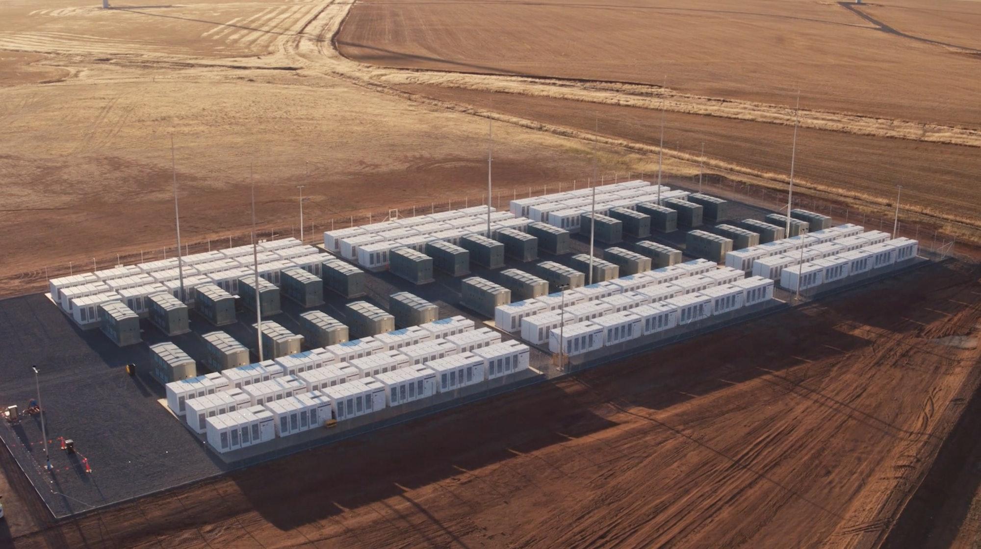 Tesla South Australia Battery