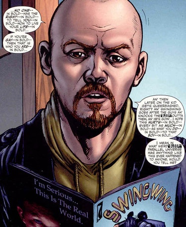 Hughie in the original comics.