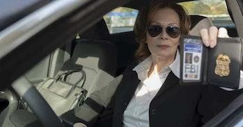 Jean Smart as Laurie Blake on 'Watchmen'