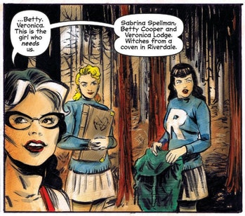 Will Betty and Veronica turn out to be witches?