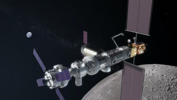 The updated configuration of the Lunar Orbital Platform-Gateway, as found on the HEOMD presentation ...