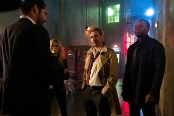 Crisis on Infinite Earths Lucifer Constantine