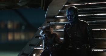 Nebula and Rocket in 'Avengers: Endgame'
