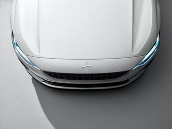 Polestar 2 from above.