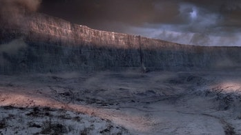 The wall in 'Game of Thrones'