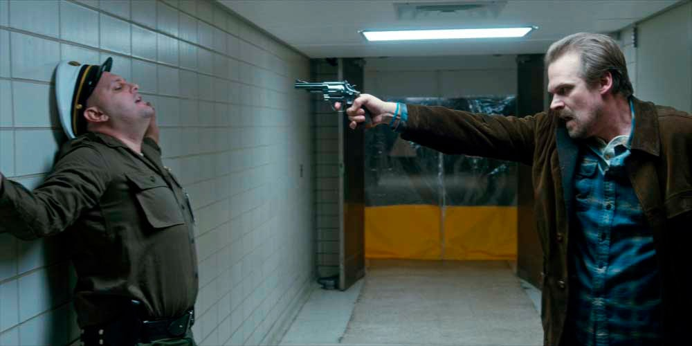 The bracelet remained on Hopper's wrist, despite several decontamination sequences.