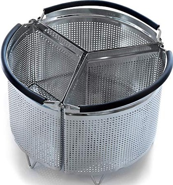 Hatrigo 3-Piece Divider Steamer Basket